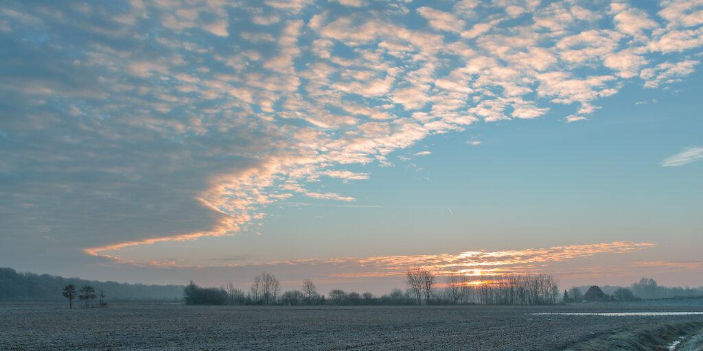 Sonnenaufgang in Wolbeck