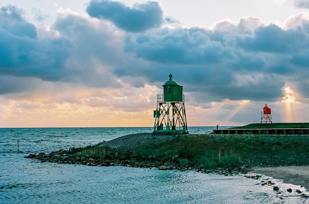 Hafeneinfahrt am IJsselmeer